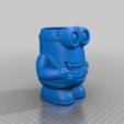 Download free 3D printer model Minion Flower Pot, helmuteder