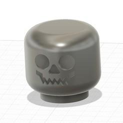 2020-10-25 06_43_57-Autodesk Fusion 360 (Personal - Not for Commercial Use).jpg Descargar archivo STL gratis Calavera de Halloween • Diseño para imprimir en 3D, helmuteder