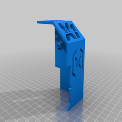 Main_Cover.png Download free STL file Extruder Cover with Cable Duct • 3D print design, helmuteder