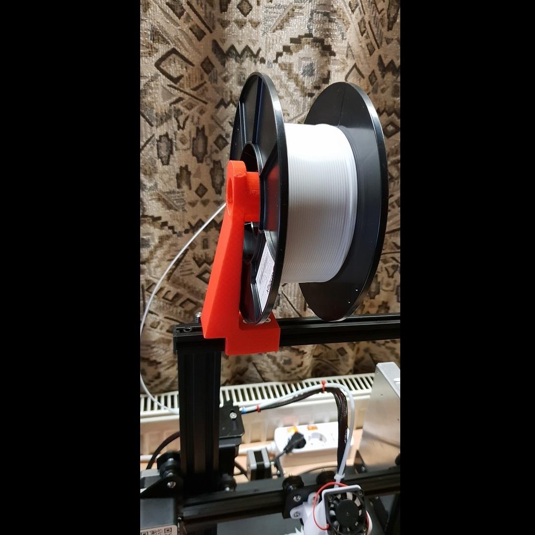 fila_mount2_2.jpg Télécharger fichier STL gratuit Porte-bobines de filaments • Design pour imprimante 3D, helmuteder