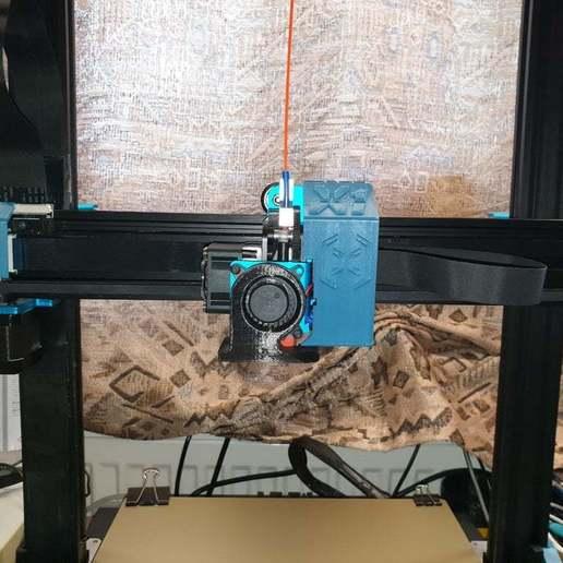20200607_115155.jpg Download free STL file Artillery Sidewinder X1 Cover Set • 3D printer design, helmuteder