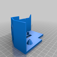 Download free STL file Extruder Cover with Cable Duct • 3D print design, helmuteder