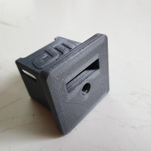 20200216_164501.jpg Download free STL file DJI Osmo Pocket Stand • 3D print design, helmuteder