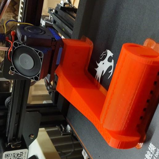 fila_mount.jpg Télécharger fichier STL gratuit Porte-bobines de filaments • Design pour imprimante 3D, helmuteder