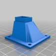 Download free STL file 5015 Fan to 40mm Heatsink Adapter • 3D printable template, helmuteder