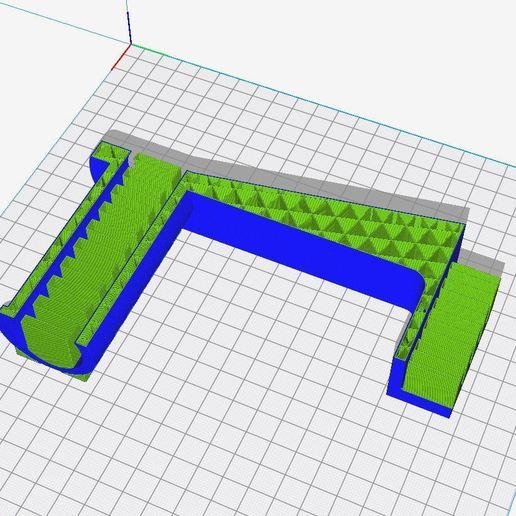 layer.JPG Télécharger fichier STL gratuit Porte-bobines de filaments • Design pour imprimante 3D, helmuteder