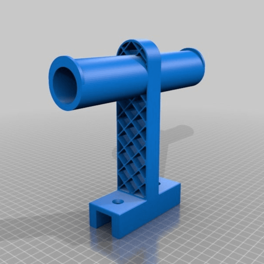 3b507600103537f97004bf8e9047b0b7.png Download free STL file Double Spool Holder • 3D printable object, helmuteder