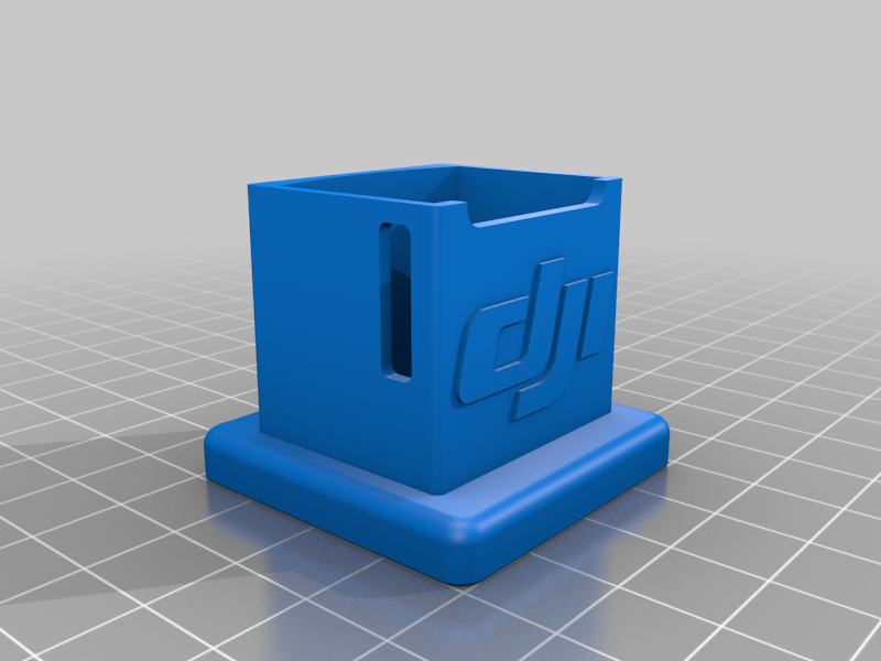 osmopocket_stand_v6.png Download free STL file DJI Osmo Pocket Stand • 3D print design, helmuteder