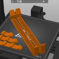 Présentation.png Télécharger fichier STL gratuit Sheet Holder Ender 3 - Plate 235mm • Objet à imprimer en 3D, JordanD9