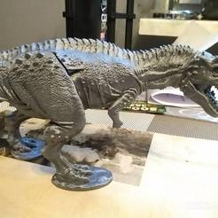 Imprimir en 3D gratis Ceratosaurio dinosaurio, gbartoszg