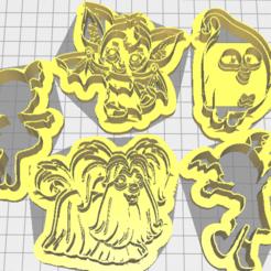 Download 3D printer designs vampirina wolf dog, Liliith