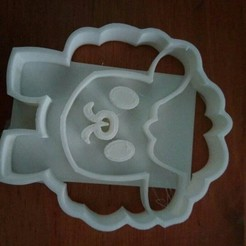 Download free 3D printer files sheep cutter sheep cookie cutter, Liliith