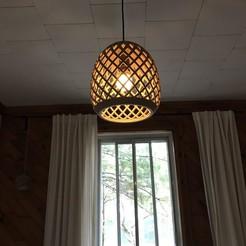 Download 3D printer designs Lampshade, lamp, design, Tibop
