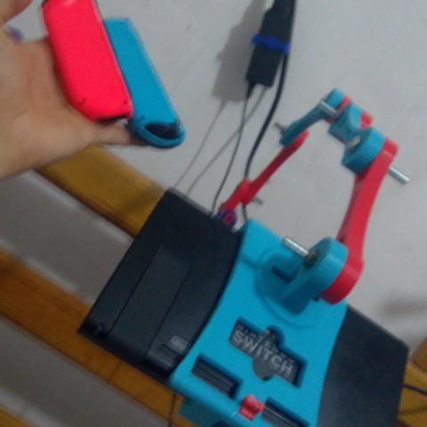 Download 3D printing models Holder Nintendo Switch MK1, mmiranda11117