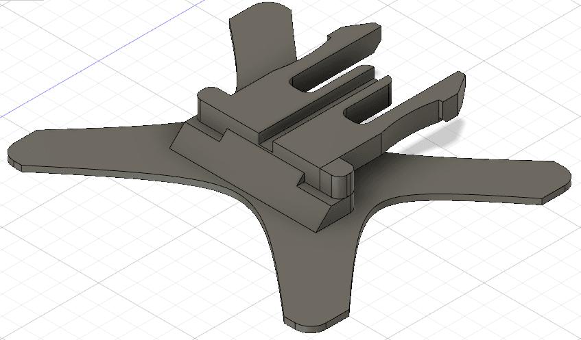 Screenshot 2019-03-04 at 17.34.36.png Download free STL file GoPro clip mount • 3D printable object, Nabla