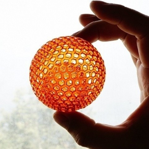 Download free STL Sphere in sphere, HARZLabs