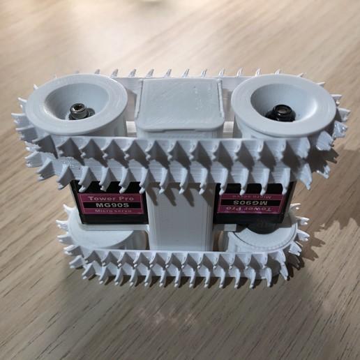 2F8699E0-CBD0-4D03-8B4D-896CA9FDF144.jpeg Download STL file Tiny FPV Tank • 3D printable object, janikabalin