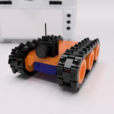 Télécharger modèle 3D gratuit Tank Micro FPV - Inspiré par Tiny Trak, janikabalin