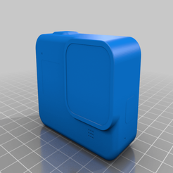Download free 3D printing files GoPro Hero8 Black - blank model, janikabalin