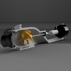 Free 3D print files Water Jet Propulsion System, janikabalin