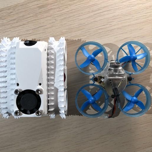 2.JPG Download STL file Tiny FPV Tank • 3D printable object, janikabalin
