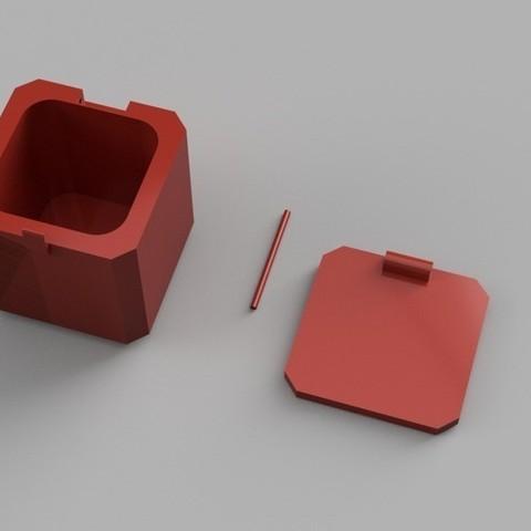 Free 3D printer model GoPro Hero Session Storage Case, janikabalin