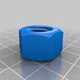 Télécharger fichier 3D gratuit Vis et écrou M14, bofl