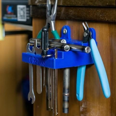 Free STL Tools holder for 3D printer, bofl