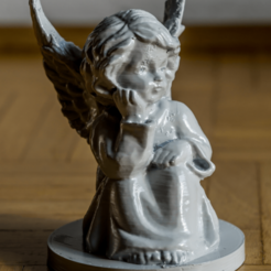 Download free 3D printing files An angel, bofl
