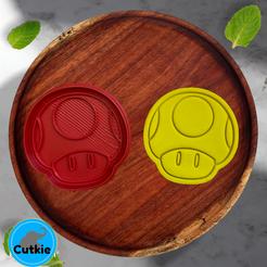 tenderte.png Download STL file Toad cookie cutter / Cortador de galleta de Toad • 3D printer design, Cutkie