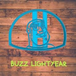 Diseño sin título-6.jpg Download STL file buzz lightyear cookie cutter / cortador de galleta de buzz lightyear • Template to 3D print, ToolBoxCorp