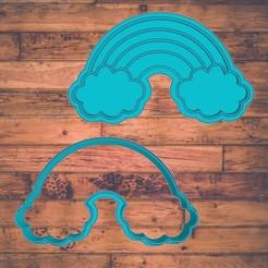 Diseño sin título-5.jpg Télécharger fichier STL rainbow cookie cutter / cortador de galleta de arcoíris • Objet à imprimer en 3D, ToolBoxCorp