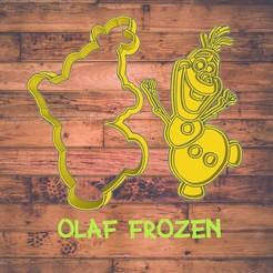 Diseño sin título.jpg Download STL file Olaf (frozen) cookie cutter / Cortador de galleta de Olaf frozen • Object to 3D print, ToolBoxCorp