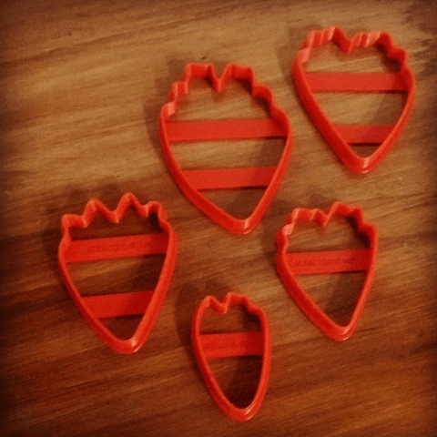 3D printing model cookie cutter peony flower, atractor3d