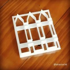 cerca.jpg Download STL file CUTTER NEAR GARDEN CUTTER NEAR GARDEN FENCE • 3D printer model, atractor3d