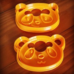 Download 3D printer files CUTTING AND DETAIL BEARS MOM AND ARE CUTTING AND DETAIL BEAR MAMA AND SON, atractor3d