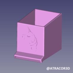 1SPONGE.png Télécharger fichier STL LICORNE CUBICULE ÉPONGE POUR ÉPONGE • Plan pour impression 3D, atractor3d