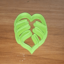 3D printing model Cookie cutter leaf palm, atractor3d