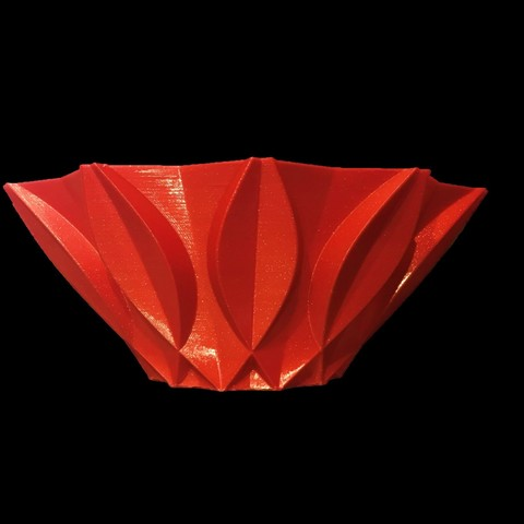bowl3.jpg Download free STL file Retro bowl • 3D printing template, Brithawkes