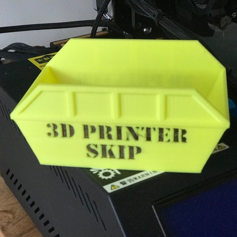 Download 3D printing models 3d printer Skip, Brithawkes