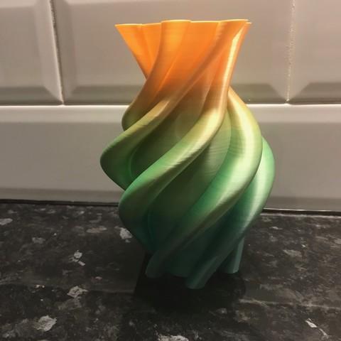 IMG_4887.jpg Download STL file Helta Skelta vase • 3D printer model, Brithawkes
