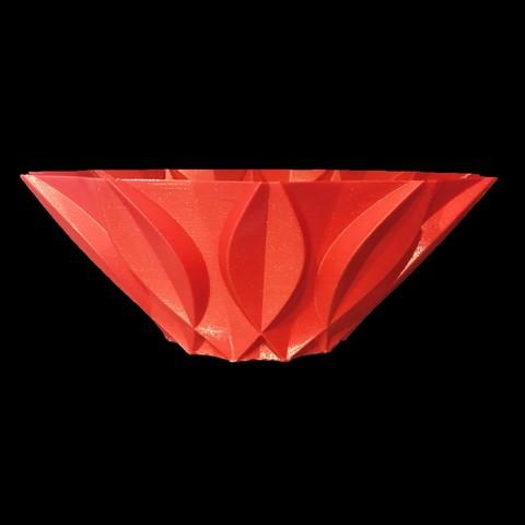 bowl2.jpg Download free STL file Retro bowl • 3D printing template, Brithawkes