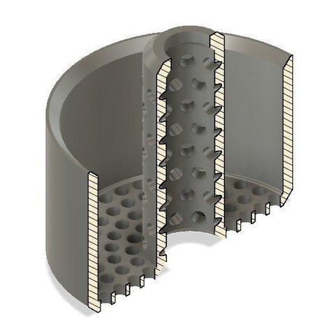 916c8c41cb7ae5a03cc084d35e7097b6_display_large.jpg Download free STL file Bath Hair Trap • 3D printing model, mkoistinen