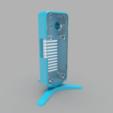 assembled-blue.png Download free STL file Homekit Camera Case (HKCam) • 3D printable model, mkoistinen