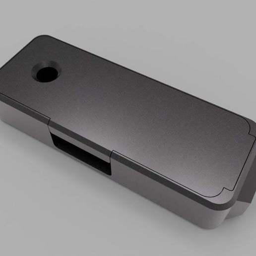 top-side-view-gb.jpg Download free STL file Homekit Camera Case (HKCam) • 3D printable model, mkoistinen