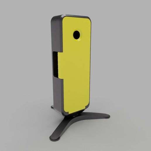 assembled-yellow-lid.jpg Download free STL file Homekit Camera Case (HKCam) • 3D printable model, mkoistinen