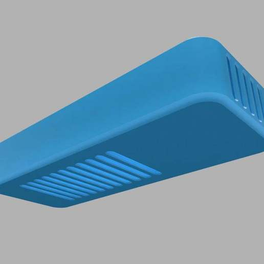 bottom-top-view-blue.jpg Download free STL file Homekit Camera Case (HKCam) • 3D printable model, mkoistinen