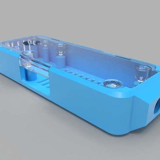 three-quarter-view-blue.jpg Download free STL file Homekit Camera Case (HKCam) • 3D printable model, mkoistinen