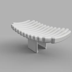 render.png Télécharger fichier GCODE gratuit Porte-savon à clipser • Modèle à imprimer en 3D, mkoistinen