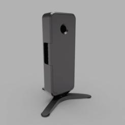 assembled-gb.png Télécharger fichier STL gratuit Étui pour caméra Homekit (HKCam) • Plan imprimable en 3D, mkoistinen